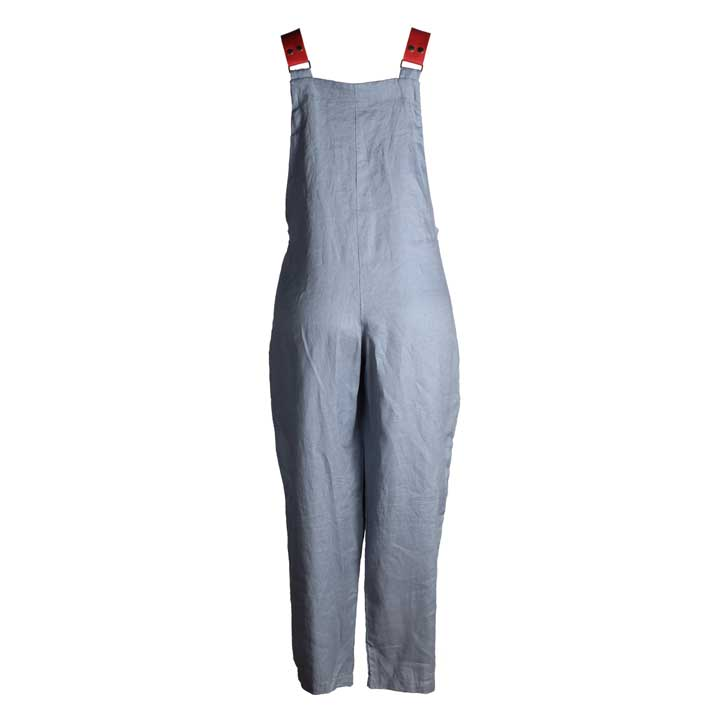 Lino Jumpsuit - Long - Air Force
