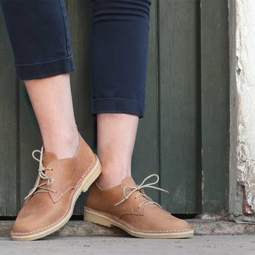 LADIES | Vellies / Veldskoene - Tan