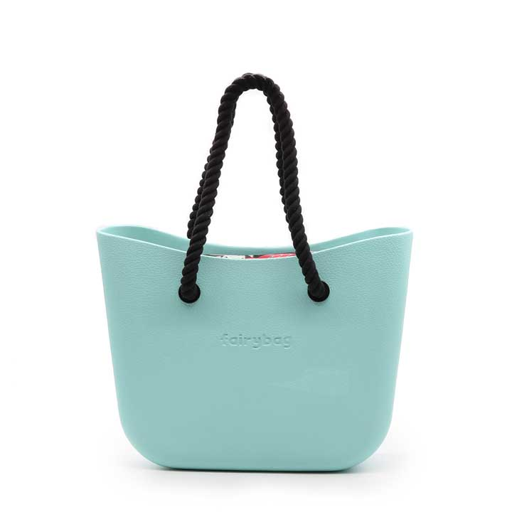 Bright Beach Bag - Mint
