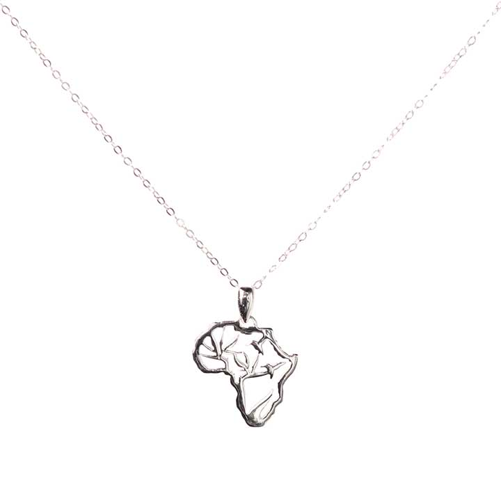 Desert Necklace - sterling silver