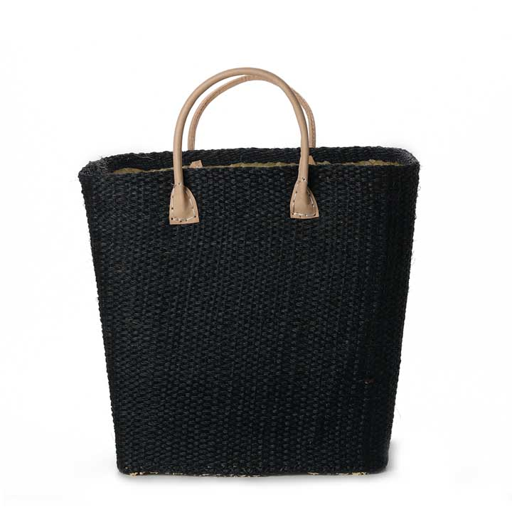 Sisal Bag - Black