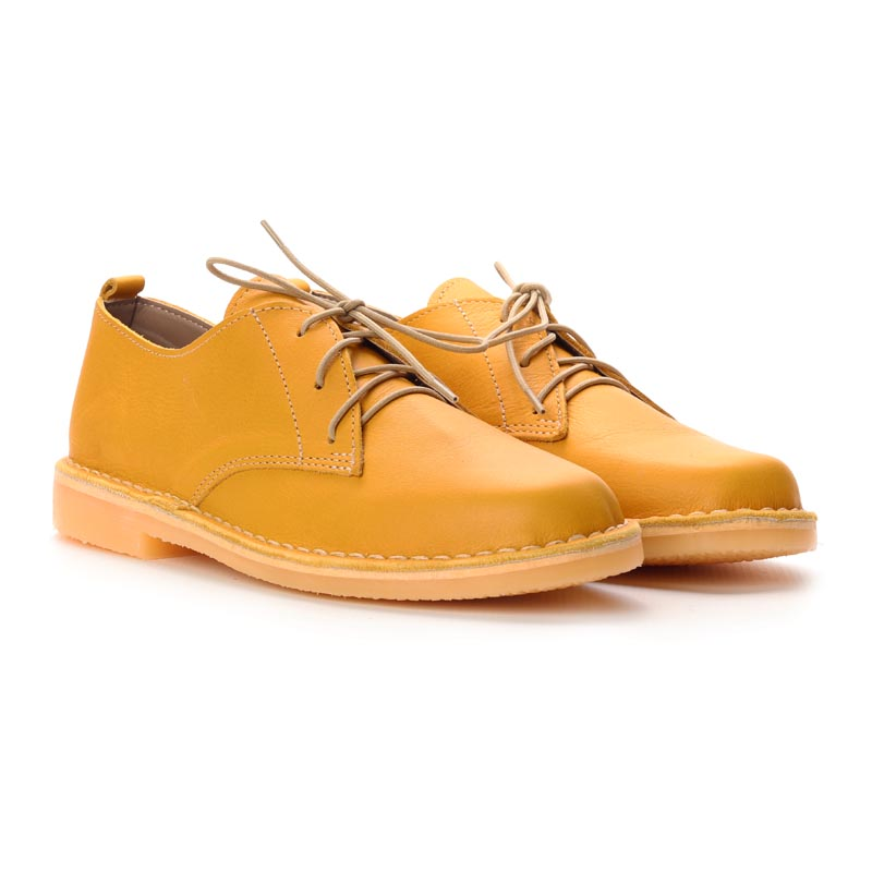 LADIES | Vellies / Veldskoene - Mustard