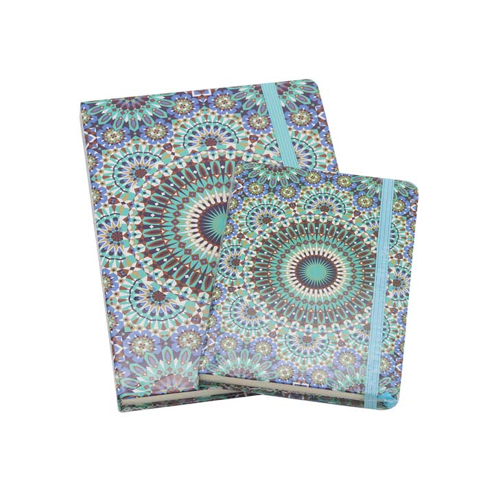 Note Book Combo - Turquoise Flourish